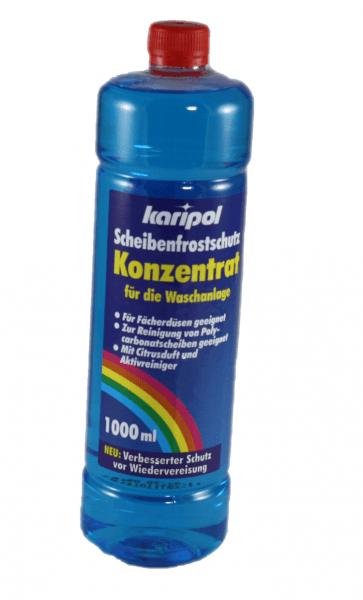 Scheibenfrostschutz Konzentrat 1 Liter Flasche Karipol