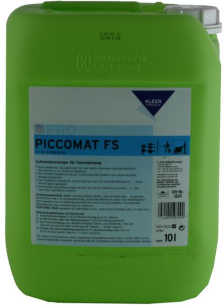 Kleen Purgatis Piccomat FS Automatenreiniger 10 Liter Feinsteinzeugreiniger
