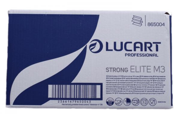 Lucart Papierhandtuch Elite M 3 weiß 3-lag., 100% Zellstoff, 22,5 x 32cm,