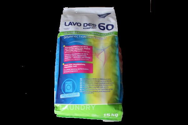 Kleen LAVO DES 60 kompakt 15 Kg Sack Desinfektionswaschmittel Pulver