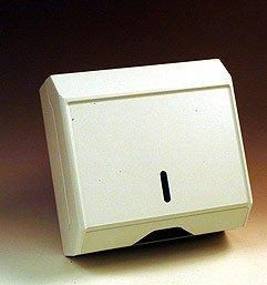Papierhandtuchspender Kunststoff klein Temca mit Schloss