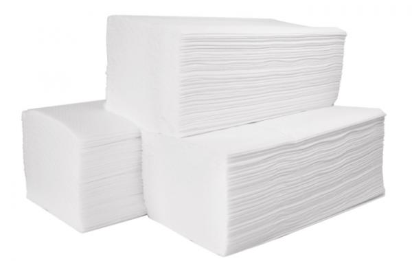 WIPEX Z-Falthandtücher Art.-Nr. 4862 hochweiß, 2-lagig Verpackung: 3000 Blätter, 23 x 25 cm -1