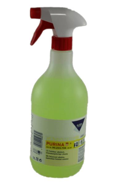 Purina Fettlöser alkalisch anwendungfertig 1 Liter Flasche mit Sprayer